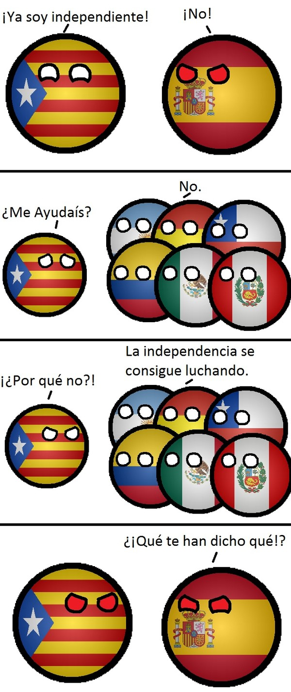 Otros - El porqué de la negativa latina, a la independencia de Cataluña