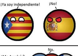 Enlace a El porqué de la negativa latina, a la independencia de Cataluña