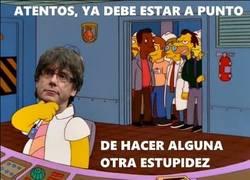 Enlace a Puigdemont no para