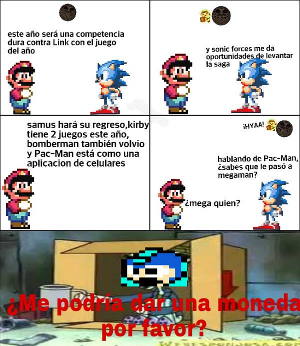 Otros - Pobre Megaman