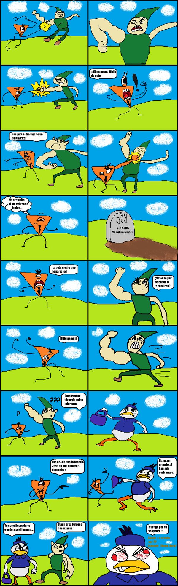 Otros - The Random Things Comic #3 Saga de Krad:El verdadero enemigo al fin aparece