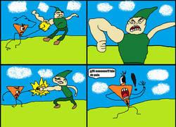 Enlace a The Random Things Comic #3 Saga de Krad:El verdadero enemigo al fin aparece