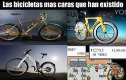 Enlace a Las bicicletas más caras