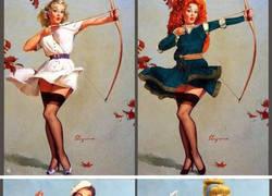 Enlace a Este artista convirtió a modelos pin-up en princesas Disney y el resultado es TOP