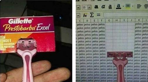 Genius - Cuchillas Excel