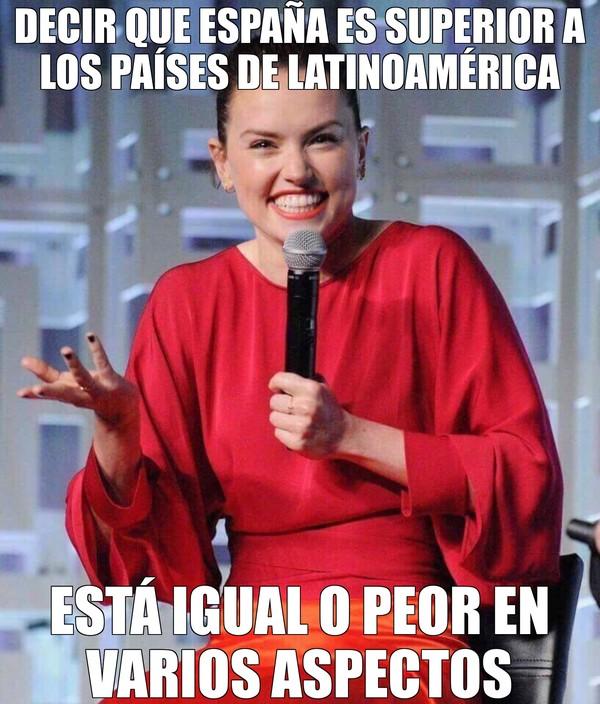 Meme_otros - No hay mucha diferencia además de lo caro que es vivir en España