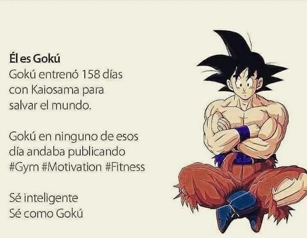 Meme_otros - Quiero ser como Goku