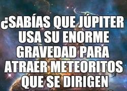 Enlace a Júpiter es el planeta al que le debemos la vida