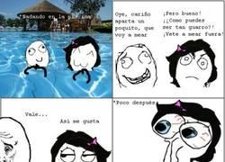 Enlace a Como me ar en una piscina