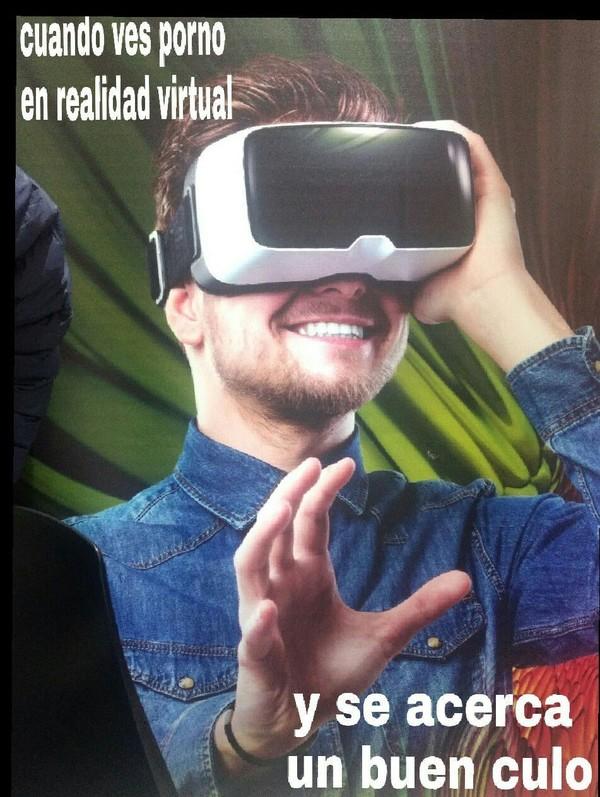 Meme_otros - La realidad virtual es maravillosa
