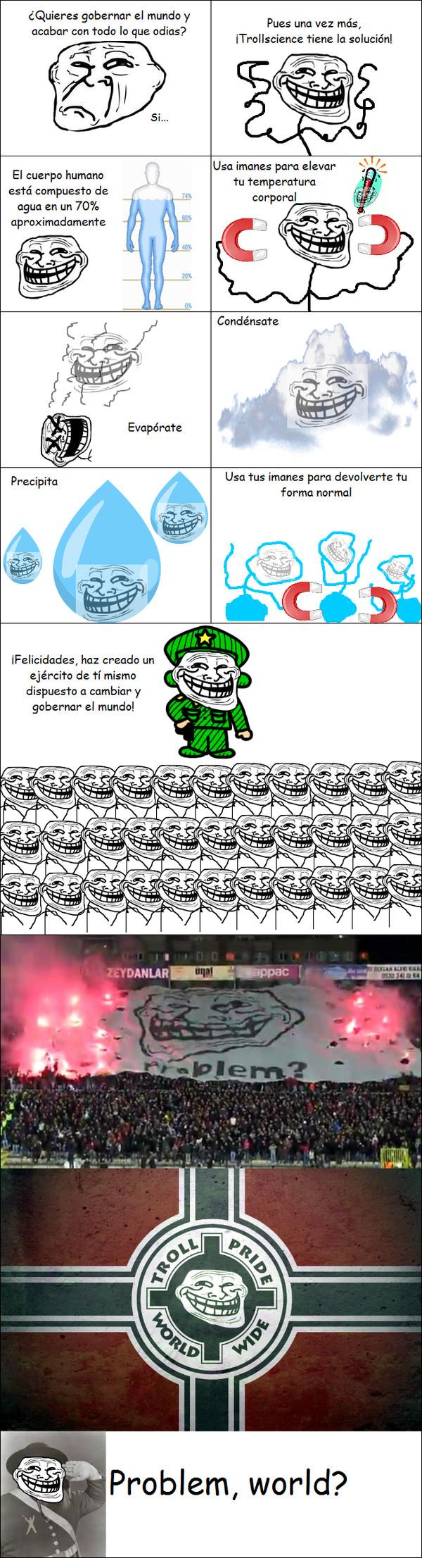 Trollface - Ciclo del agua Troll