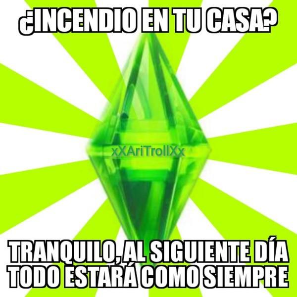 Meme_mix - La lógica de Los Sims