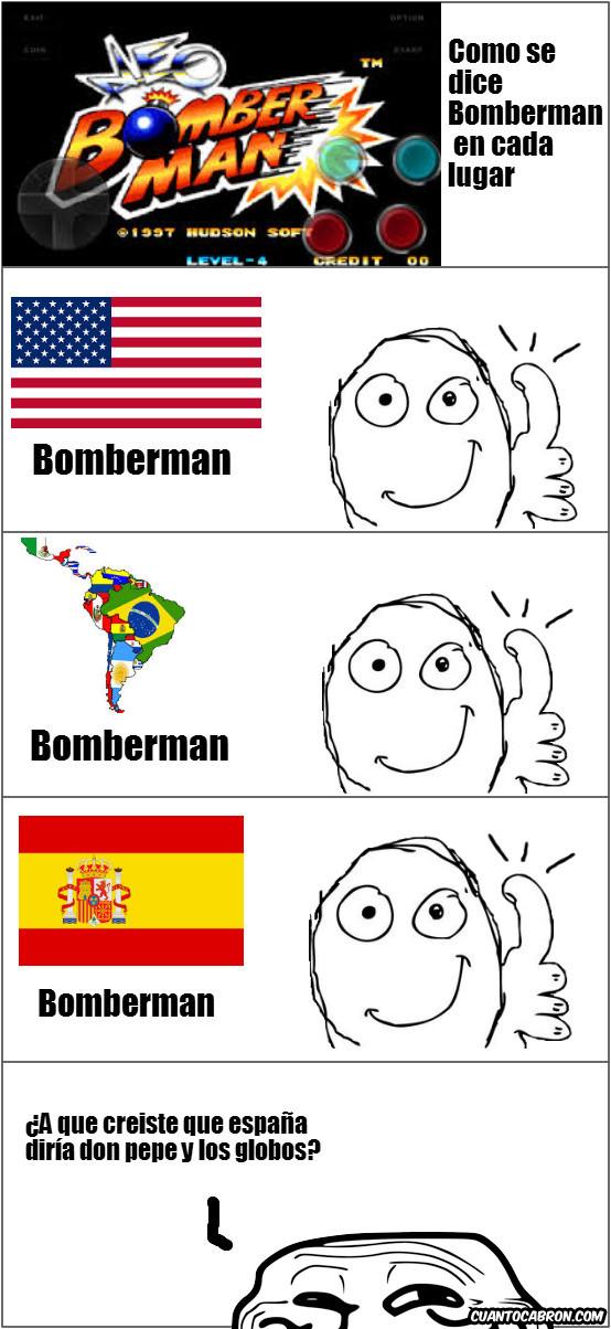 Trollface - Bomberman en cada lugar