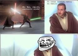 Enlace a Obi troll kenobi