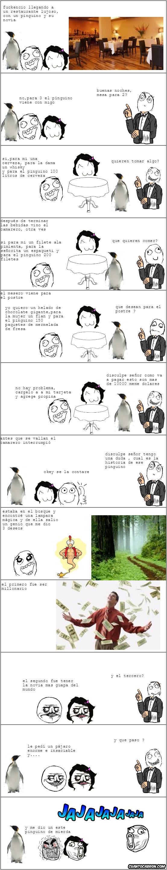 Mix - ¿Para qué está el pingüino ?