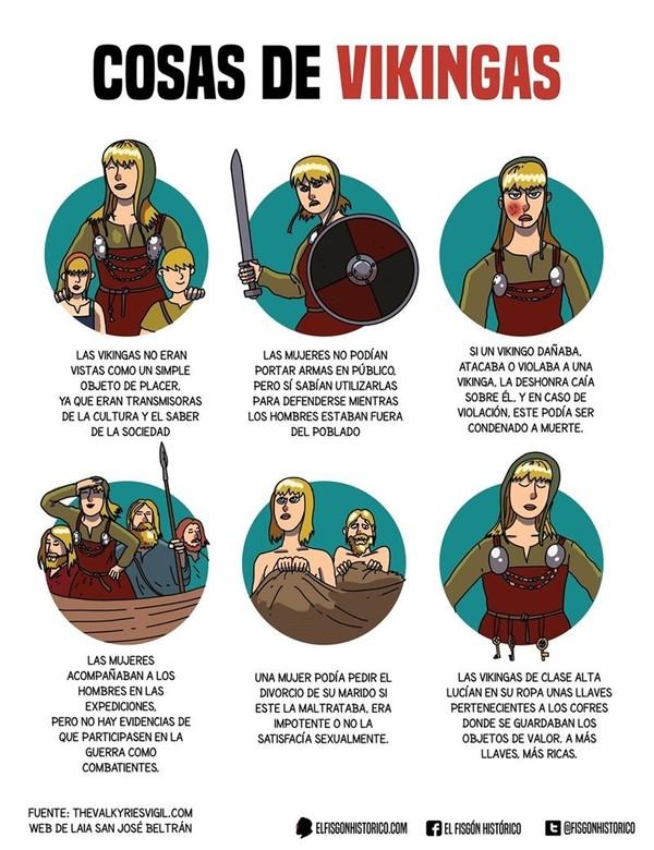 Otros - Curiosidades sobre vikingas