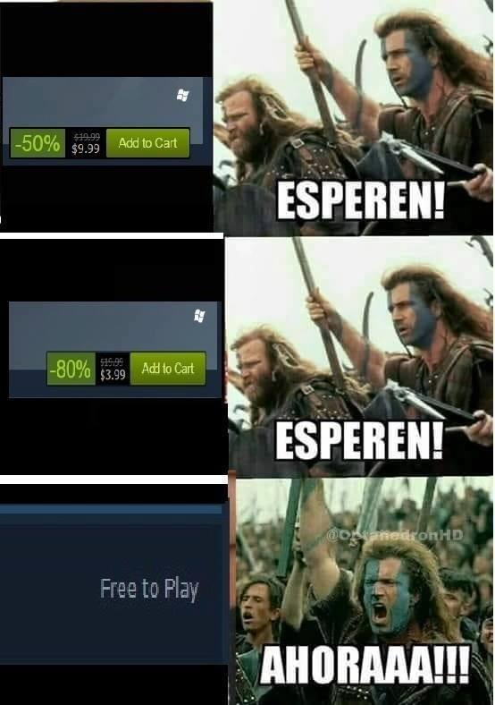 Meme_otros - Siempre hay que esperar un poco más para los juegos