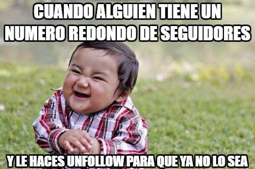 Nino_malvado - Perdiendo amigos en Instagram