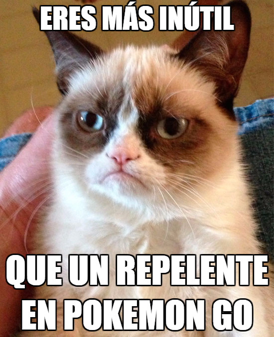 Grumpy_cat - Repelentes, antes molaban...