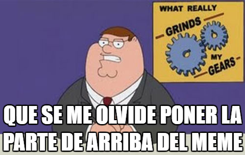 Peter_griffin - Suele pasar