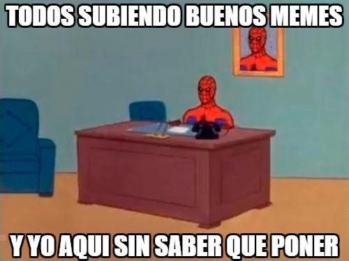 Spiderman60s - El drama de mucha gente