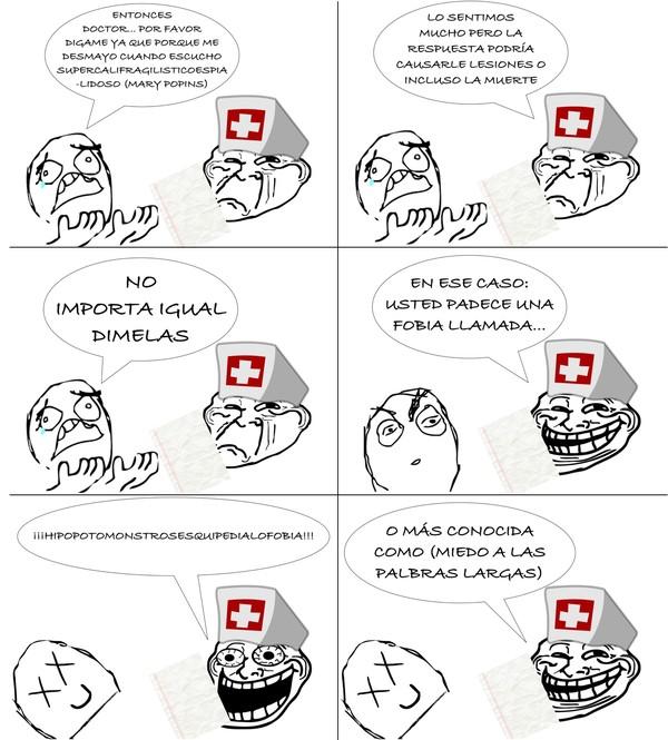 Trollface - Los doctores se pusieron de acuerdo en algo que no sea la letra
