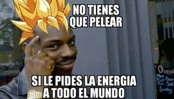 Enlace a Dadme vuestra energia
