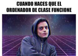 Enlace a Hacker en clase