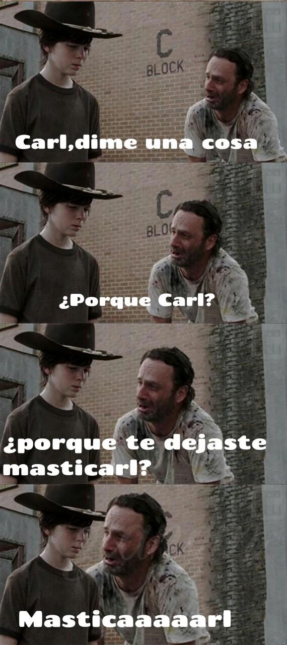 Meme_otros - [Alerta Spoiler] Dramático final de The Walking Dead