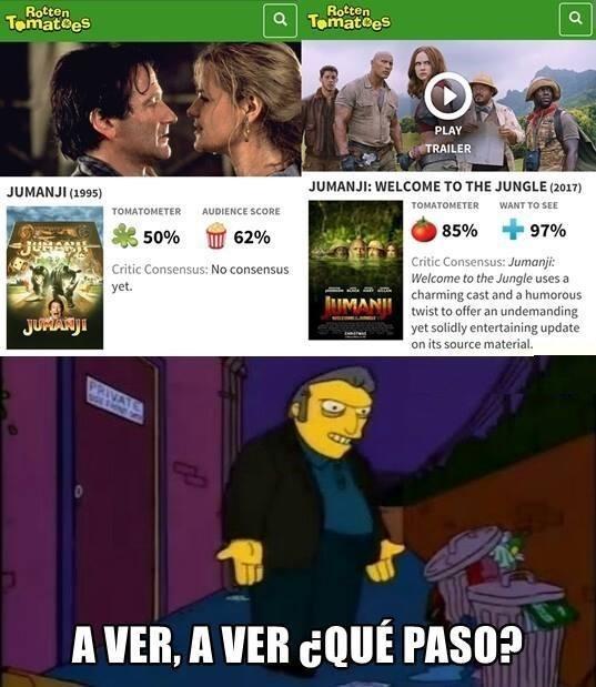 Meme_otros - Algo está fallando, ¿o no?