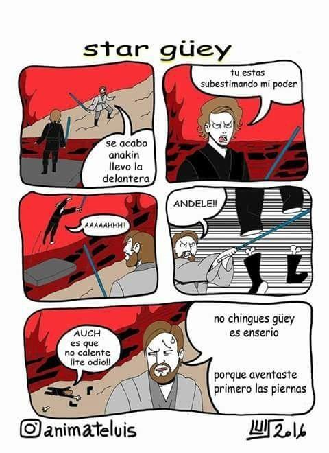 Otros - Star Wars explicado de una manera más peculiar