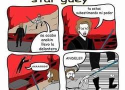 Enlace a Star Wars explicado de una manera más peculiar