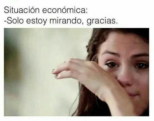 Meme_otros - Mi vida no puede ir peor económicamente