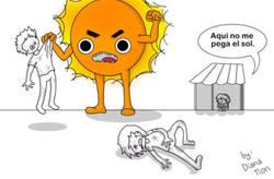 Enlace a El sol es muy cruel