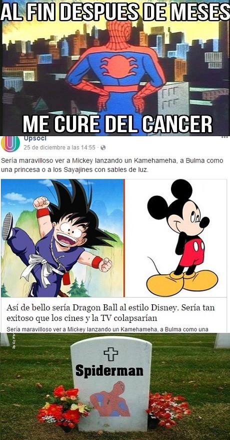 Spiderman_yisus - Esto es más cancerígeno que Dragon Ball Evolution