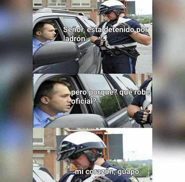 Meme_mix - Detenido por la policía
