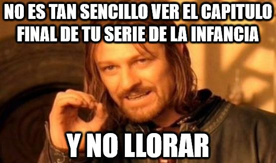 Boromir - Lo intenté con Dragon Ball y no pude