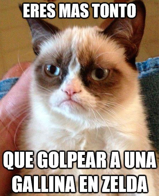 Grumpy_cat - Sabes el resultado pero no puedes dejar de hacerlo