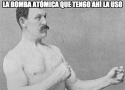 Enlace a El depertador de Overly Manly Man