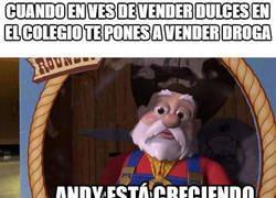 Enlace a La evolución de Andy