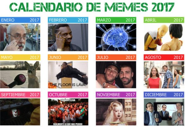 Meme_otros - Calendario de memes 2017