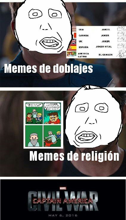 Meme_otros - ¡Pelea de inválidos!