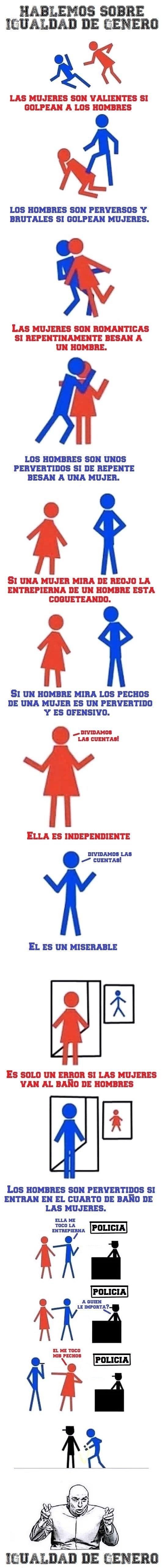 diferencias,hombres,igualdad de genero,mujeres