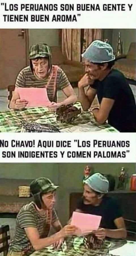 Meme_otros - Peruanos y sus costumbres