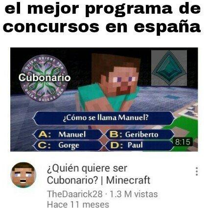 Meme_otros - Un concurso adaptado en España