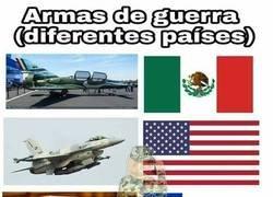 Enlace a Armas en diferentes paises
