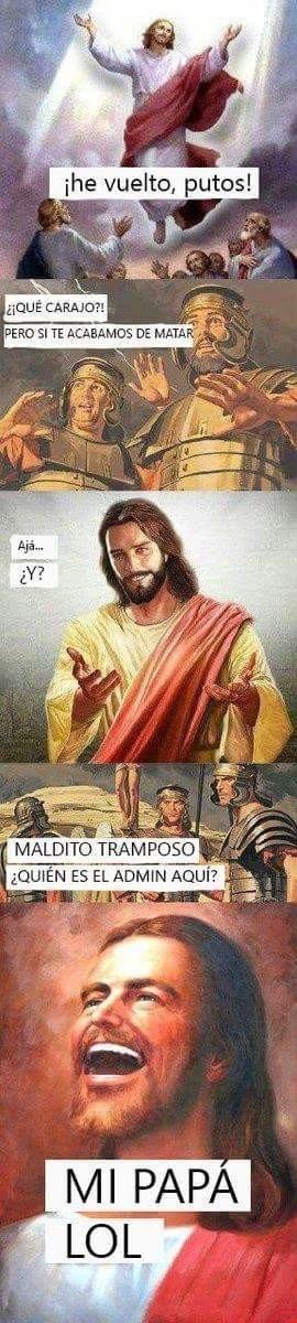 Otros - Jesús es un tramposo