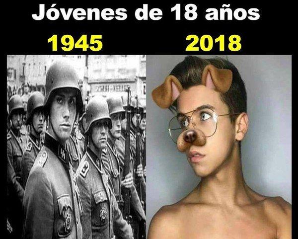 Meme_otros - La vida ha cambiado demasiado