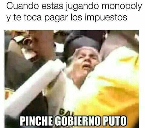Meme_otros - ¡Maldito Gobierno ladrones!