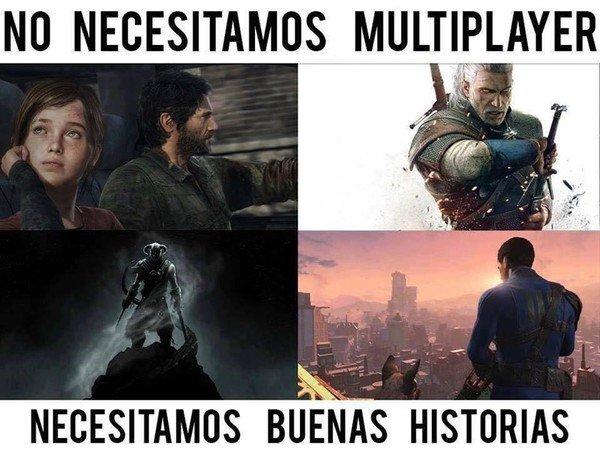 Meme_otros - Lo que quiero en un videojuego